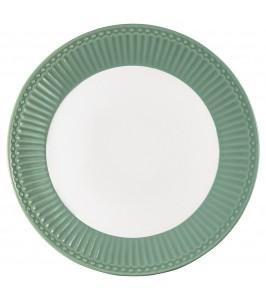 GreenGate Alice dusty green middagstallerken   Robust hverdagsstel