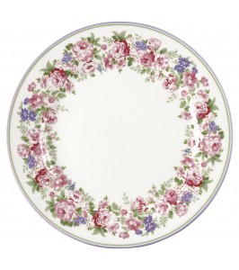 GreenGate tallerken Rose white