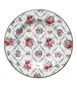 GreenGate Malene petit white small plate fra Winter 2019