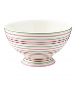 GreenGate Silvia stripe soup bowl fra Winter 2019