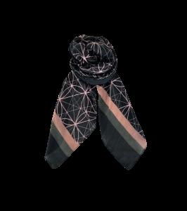 tørklæde sort black colour