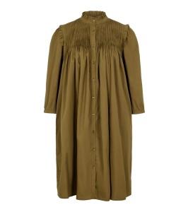 kort army grøn kjole yas