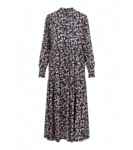 lang kjole blomsterprint yas