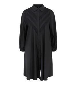 kort sort skjorte kjole yas