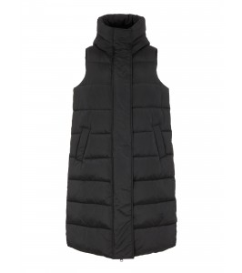 lang sort vest yas