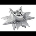 Medusa Star Factory Sølvglimmer Lysestage til Kronelys-01