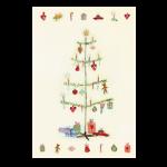 Maileg Julekort Juletræ, dobbeltkort-01