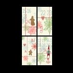 Maileg Til/Fra kort Juletern Ass.-01