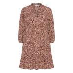 kort kjole rosa continue