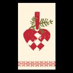 Maileg Servietter Julehjerte-01