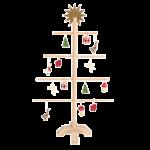 Maileg Træ Juletræ til Små Ophæng-01
