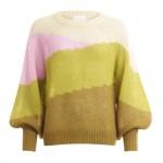 strik sweater grøn coster copenhagen