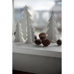 Ib Laursen Juletræ med stjerne Hvid 12 cm-01