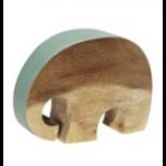 Rikki Tikki JUST Elefant Frosty Green 14 cm-01
