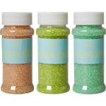 Rice Farvet Dekorations Sukker i 3 Forskellige Farver.-01