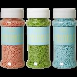 Rice Kagekrymmel Tre Forskellige Farver.-01