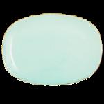 Rice Oval Middagstallerken Mint Keramik.-01
