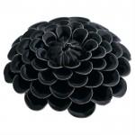 Gate Noir Dekoration Flower dark grey-01