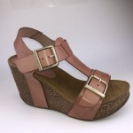 Amust wedge sandal rosa