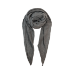 Black Colour Striktørklæde grå