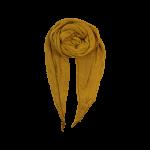 Black Colour striktørklæde gul