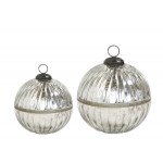 Chic Antique glaskugle 51576-12