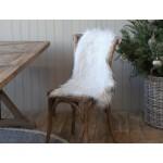 Hvidt Chic Antique Imiteret skind 16801-01