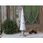 Chic Antique Vintage juletræ m/ glimmer-01