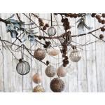 Julens glaskugler fra Chic Antique