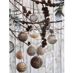 Julekugler i glas eller metal fra Chic Antique