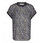 co' couture Norma Marigold Shirt Navy