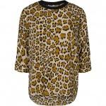 co couture bluse leopard print
