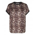 co couture Normal Animal Sateen Top-01