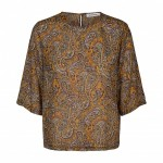 co couture rive bluse paisley