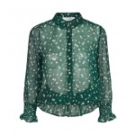 co couture Daisy Smock Shirt Jade-01