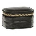 Depeche smykkeboks lille sort læder
