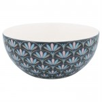 GreenGate Cereal bowl Victoria dark grey-01