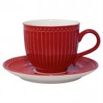 GreenGate Kaffekop Alice red-01