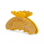 hårklemme med sten gul Sui ava