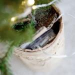 Juletræ med lys og træbund fra House Doctor JT0202 209320202