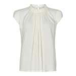 bluse off white in front