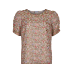 blomstret bluse in front