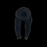 uldtørklæde sort black colour