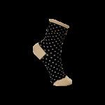 strømper med prikker sort black colour