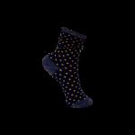 strømper med prikker navy black colour