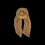 plisseret guld tørklæde black colour