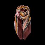 stribet tørklæde bordeaux black colour