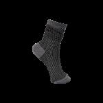 strømper med tern sort black colour
