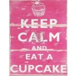 Keep Calm and eat a cupcake-01