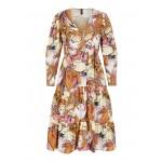 blomstret kjole lilla yas
